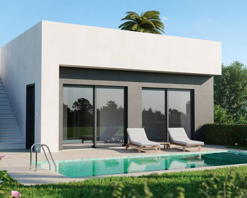 Detached Villa - New build - Mar Menor Golf Resort - Mar Menor Golf